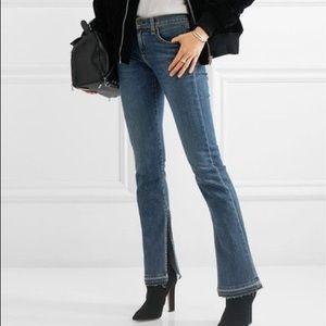 NWT rag and bone Lottie boot jeans raw hem